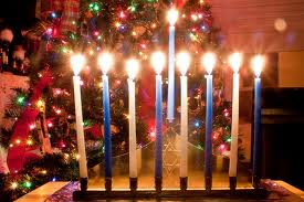 menorah tree