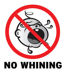 The No Whining Rule A Map Of California