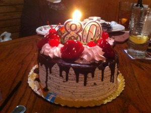 birthday cake - March 2014