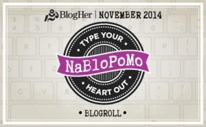 NaBloPoMo 2014 Logo