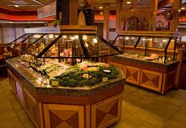 Sizzler salad bar