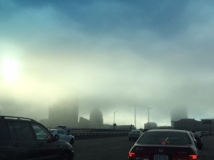 Fog on the 5