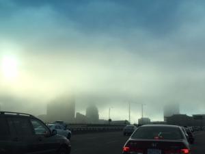 Fog on the 5