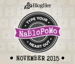NaBloPoMo 2015 Logo